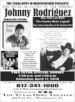 Johnny Rodriguez and Friends at The Texas Opry April...