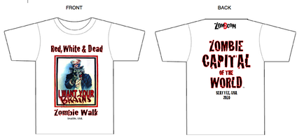 Red, White, and Dead Zombie Movie Event