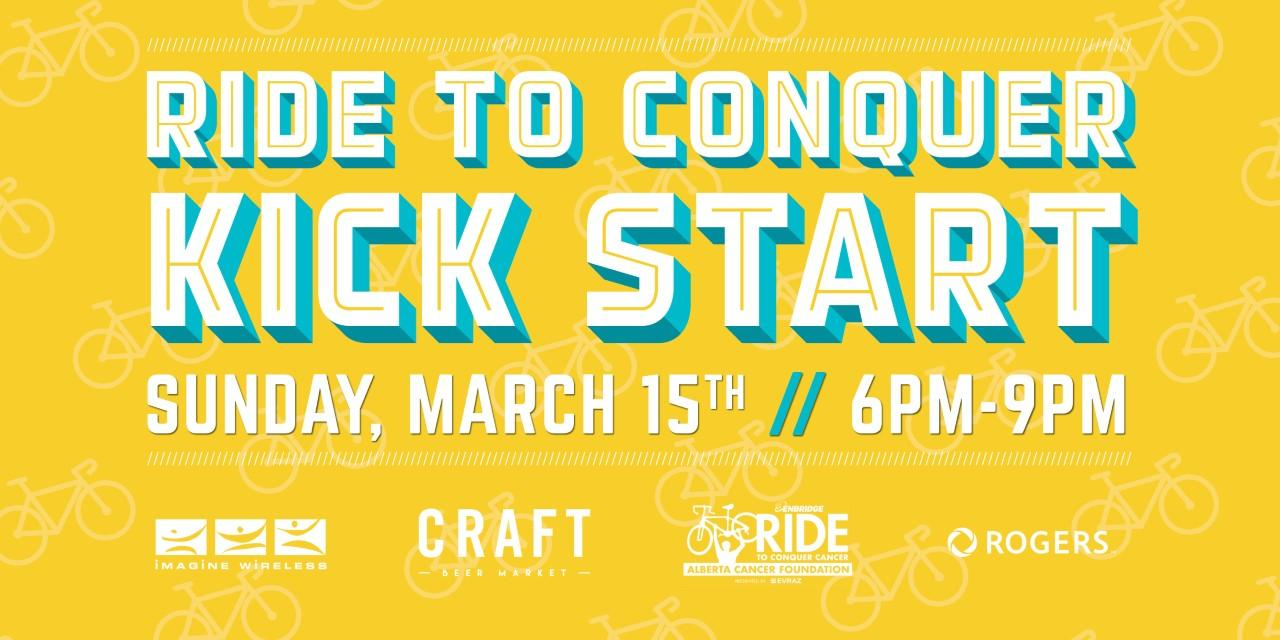RIDE TO CONQUER - KICK START (DATE POSTPONED - TBD)