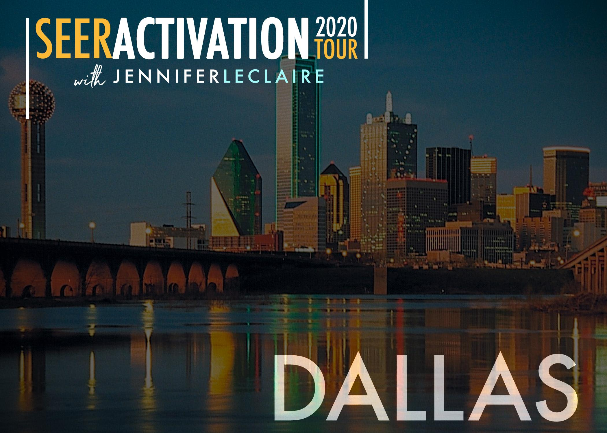 Seer Activation 2020 Tour Dallas Tx 12 May 2020
