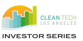 CleanTech LA Investor Series - June 29th