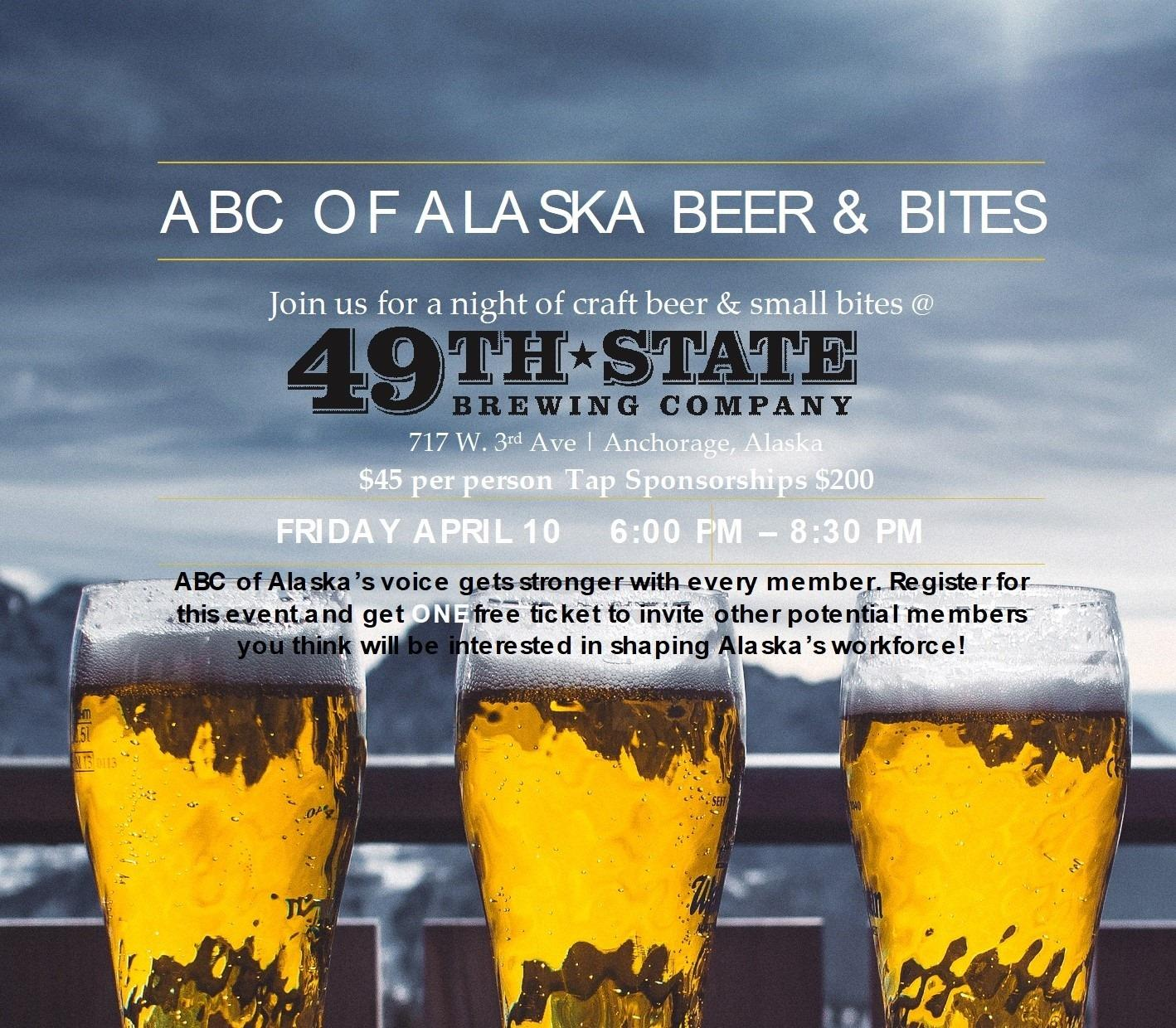 ABC of Alaska's Annual Beer & Bites