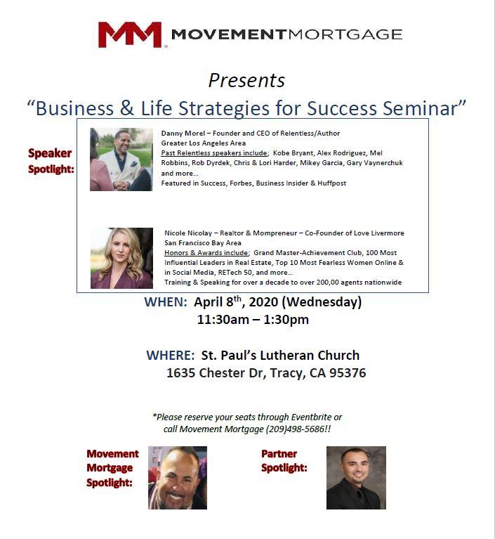 Business & Life Strategies for Success