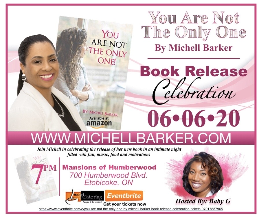 You Are Not the Only One by Michell Barker - Book Release Celebration