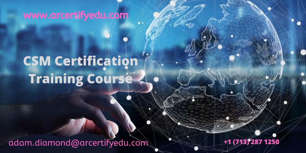 CSM Certification Training Course in Cincinnati, OH, USA
