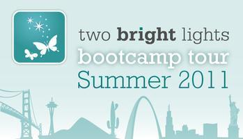 TWO BRIGHT LIGHTS BOOTCAMP IN TAMPA/ST. PETE--JUNE 29