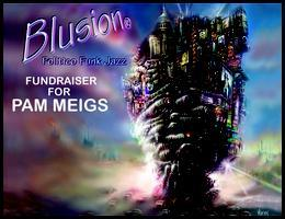 PAM MEIGS FUNDRAISER WITH BLUSION