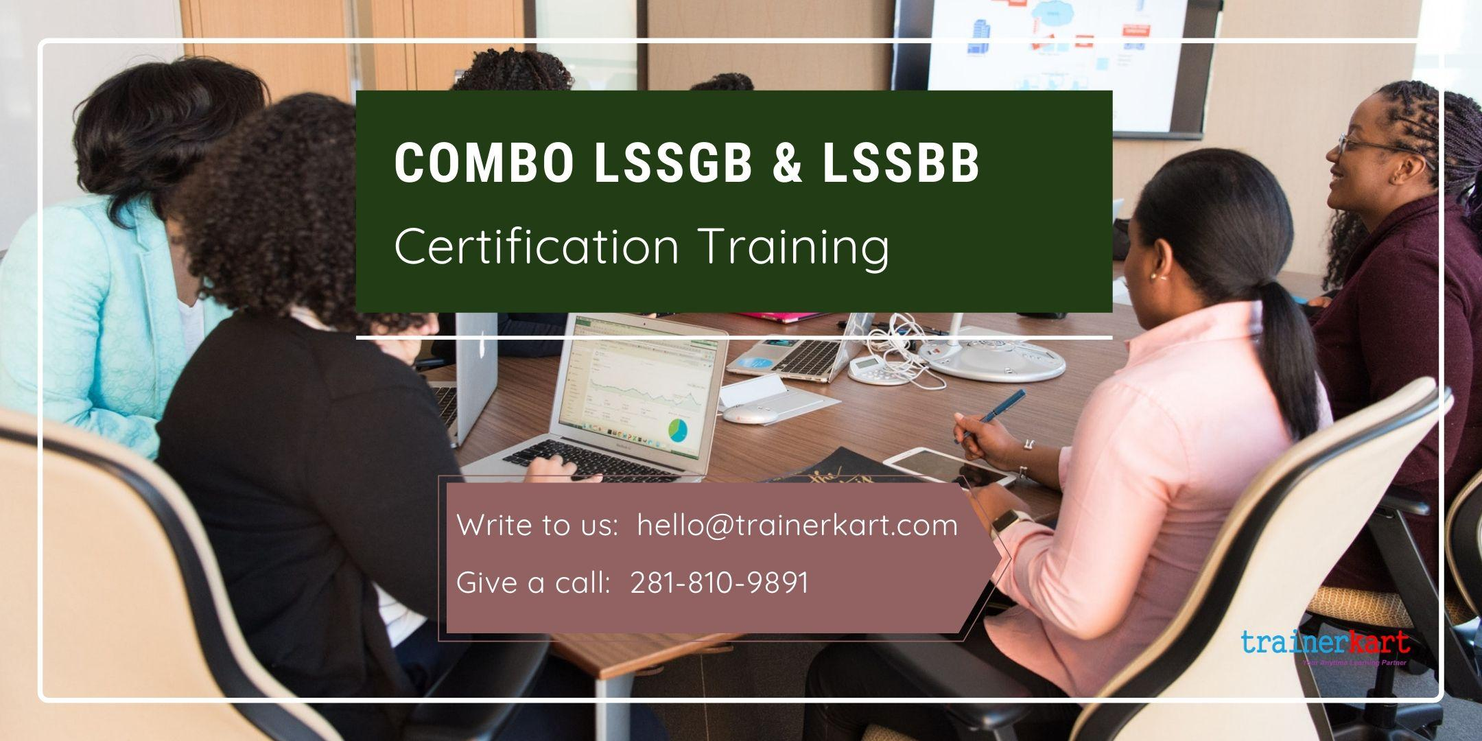 Combo LSSGB & LSSBB 4 day classroom Training in Brampton, ON