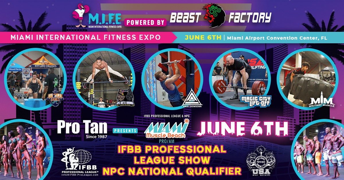 Miami International Fitness Expo (M.I.F.E)