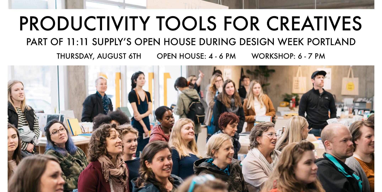 Productivity Tools for Creatives - Design Week Portland 2020