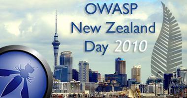 OWASP New Zealand Day 2010