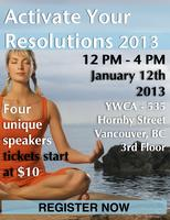 ACTIVATE YOUR RESOLUTIONS 2013