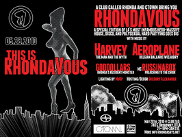 RHONDAVOUS W/ AEROPLANE AND HARVEY