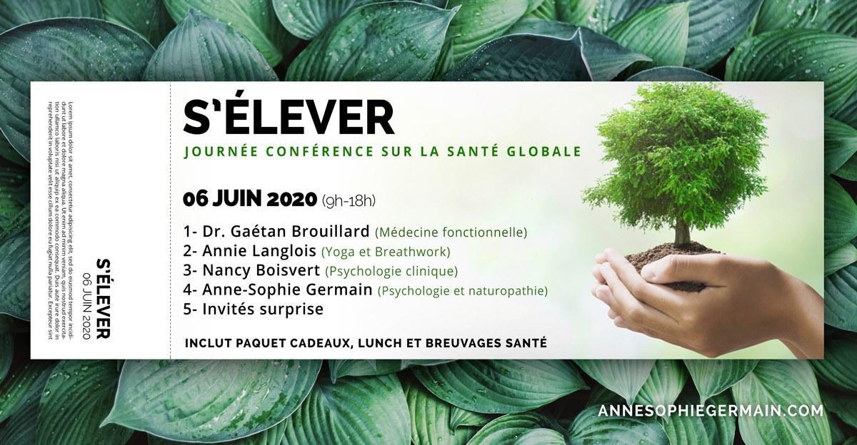 S'ÉLEVER: L'évènement de l'année en santé globale
