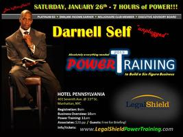 SUPER SATURDAY & POWER TRAINING w/ Millionaire, DARNELL...