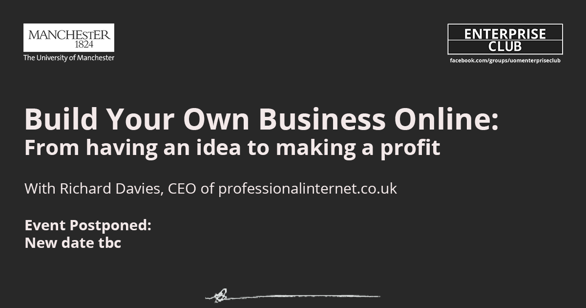 POSTPONED: Build your own business online