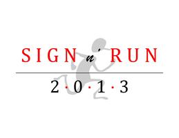 CSUN NCOD Sign n' Run 2013 in Northridge