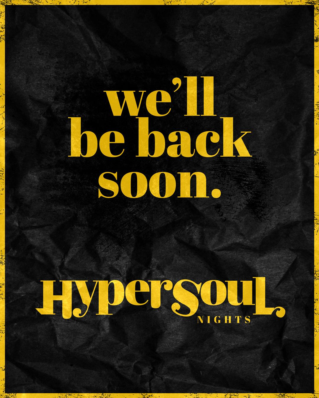 HYPER SOUL Nights with OVEOUS (5HR SET)