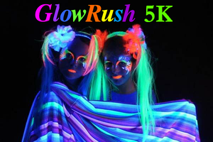 Glow Rush 5K 2013 - Los Angeles, CA