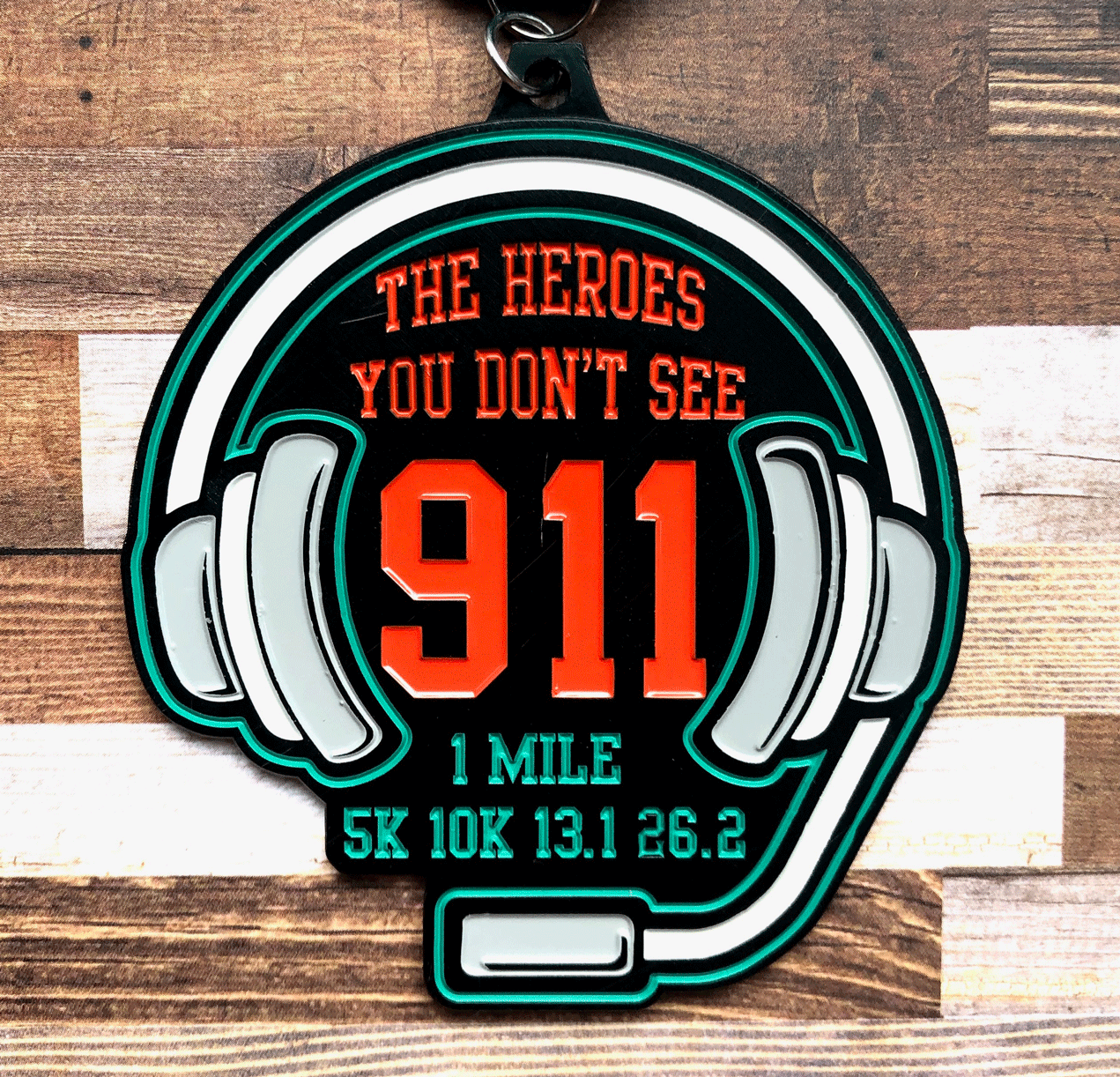 Only $9! The Heroes You Don't See 1 M 5K 10K 13.1 26.2 -El Paso