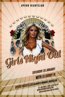 Girls Night Out w/DJ Danny M | Saturday 1.26.13