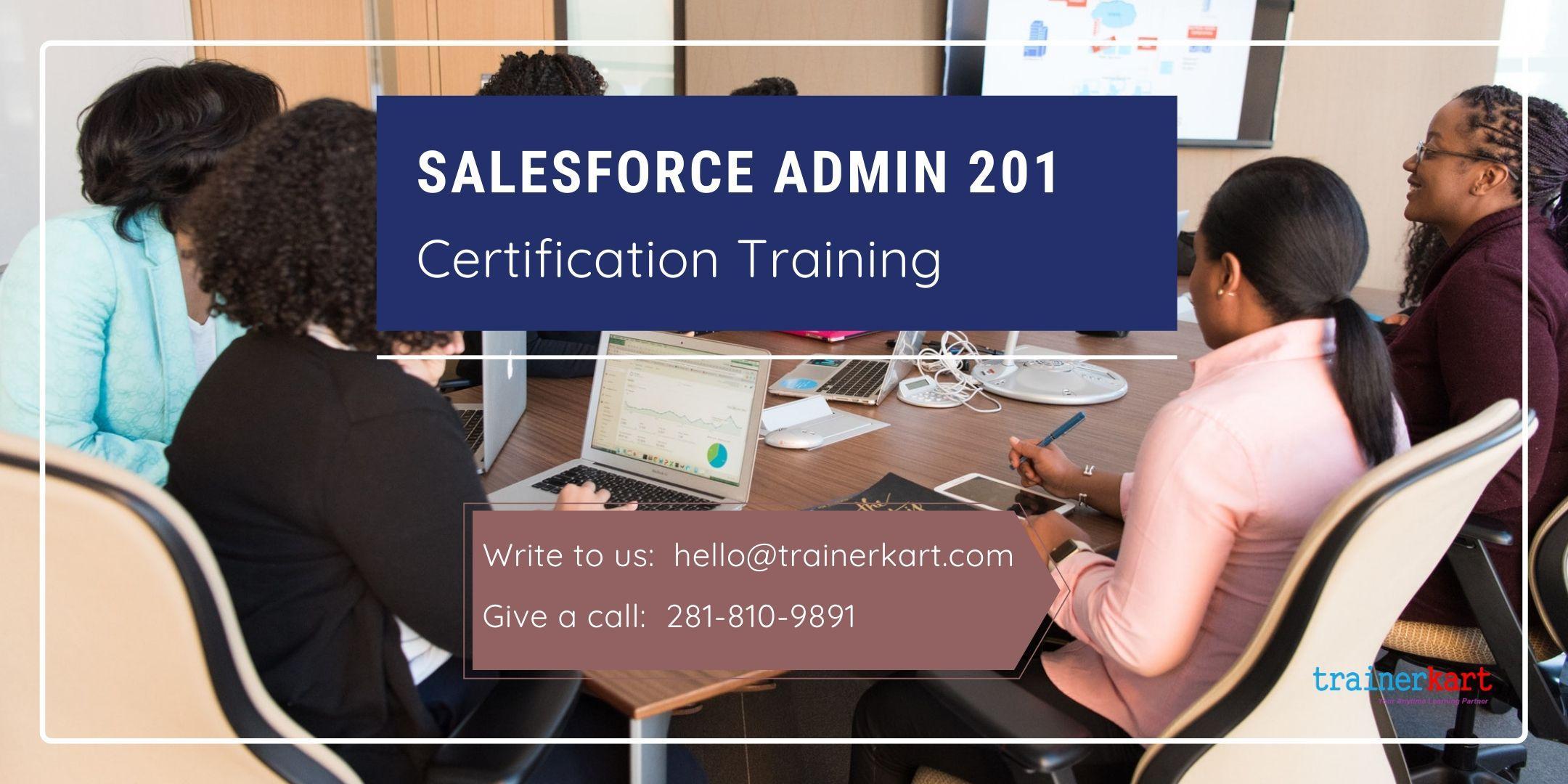 Salesforce Admin 201 4 day classroom Training in Lewiston, ME