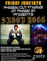 SNOOP DOGG LIVE AT PHASE54 Night Spot
