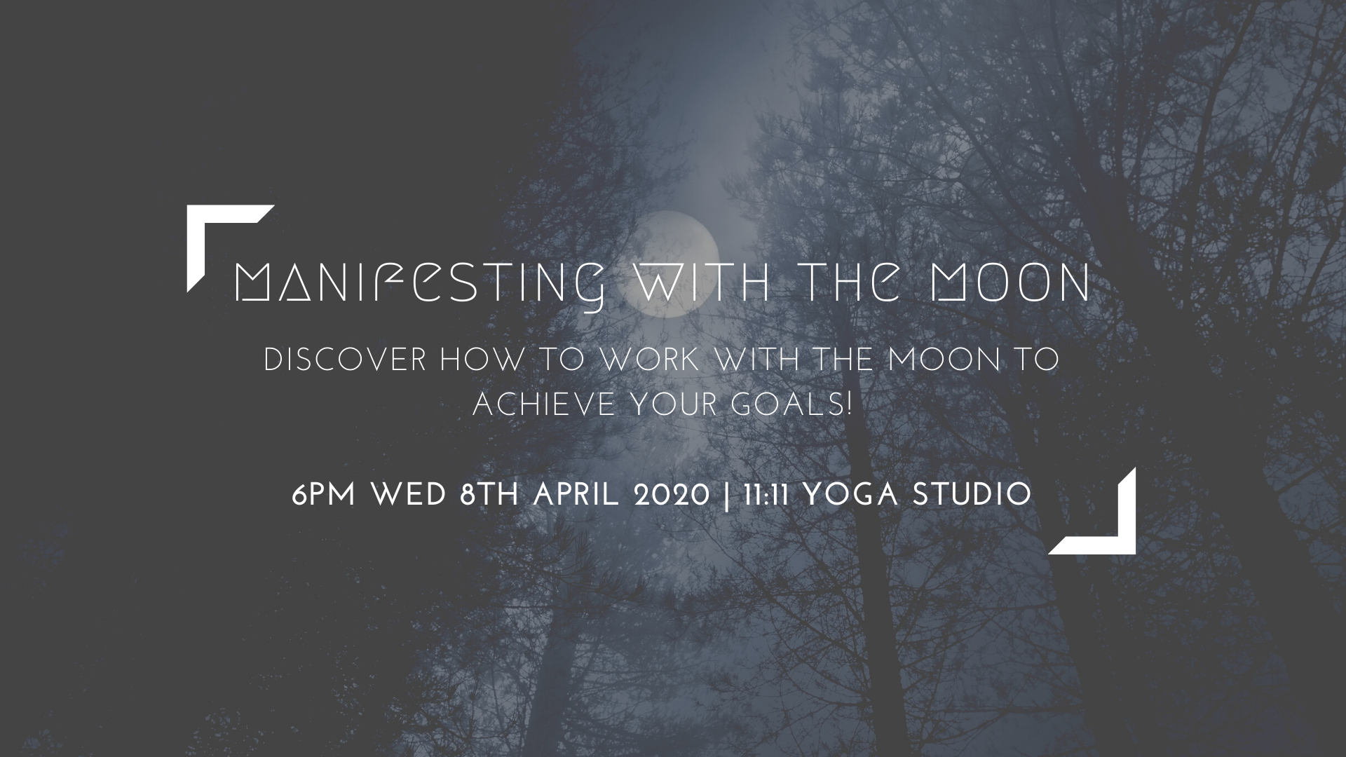 Manifesting With The Moon Workshop