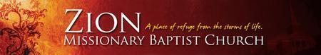 Zion Missionary Baptist - Men's Day Choral Concert
