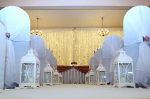 Wedding venue  open evening