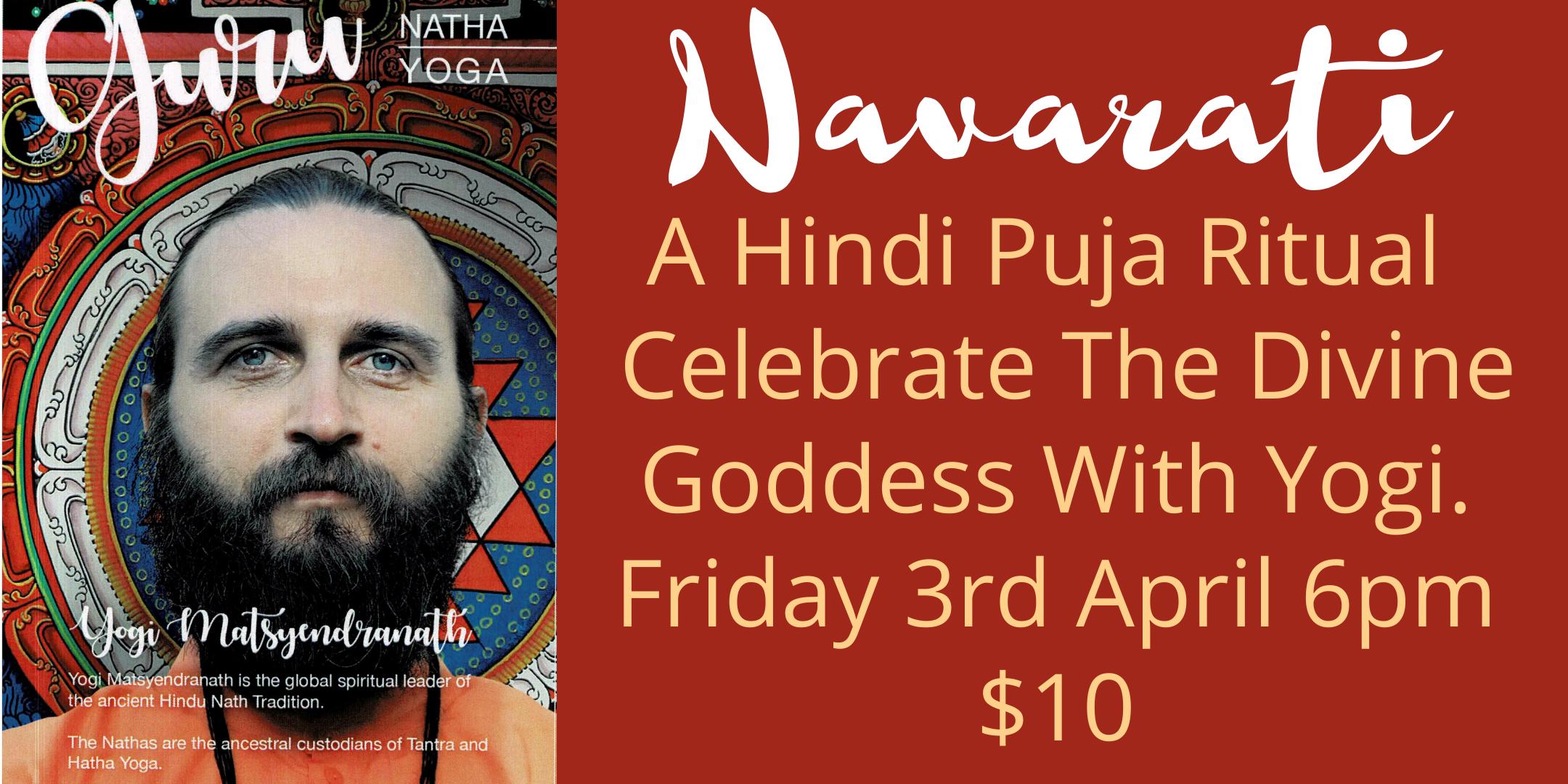 Navarti, Hindu Puja Ritual To Celebrate The Divine Goddess.