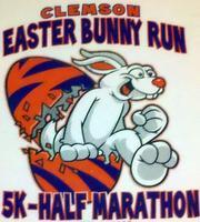 3rd Annual Clemson Easter Bunny Run 5k & Half Marathon
