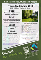 Fair Trade Food, Music and People: A summer evening at...