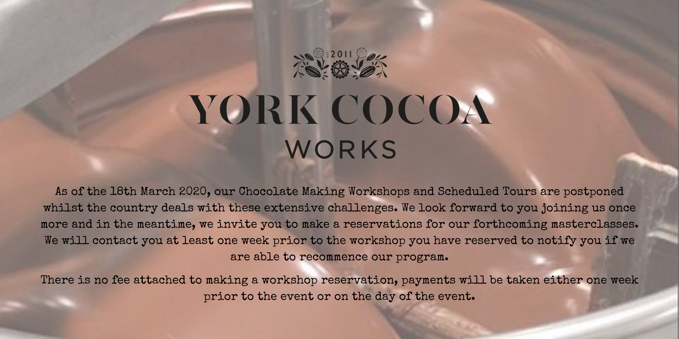 Chocolate Manufacturing from Cocoa to Couverture Learning Program