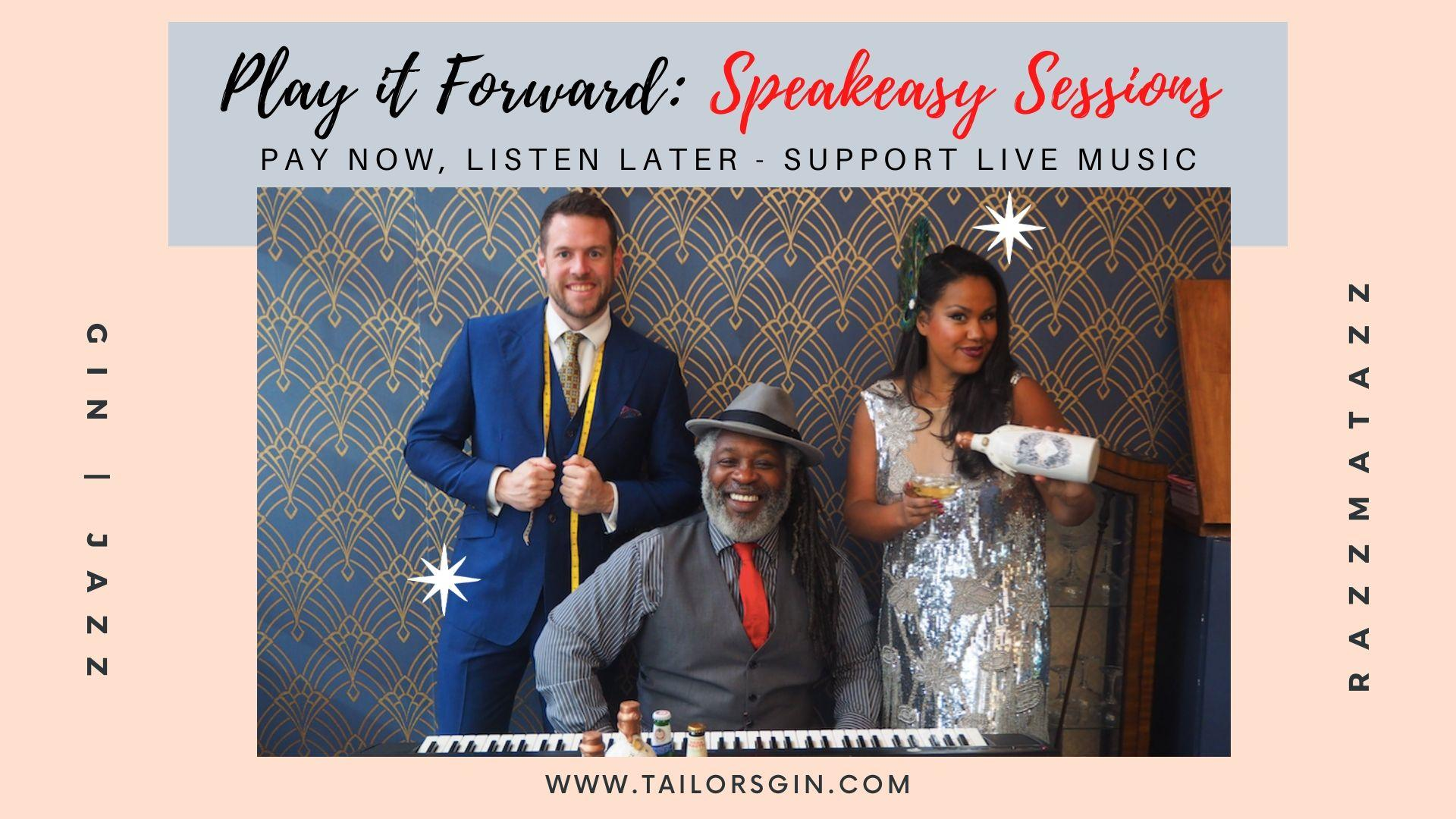 PLAY it FORWARD: Speakeasy Sessions