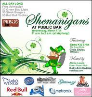 Shenanigans St. Patrick's Parade/Run to benefit Luke's...