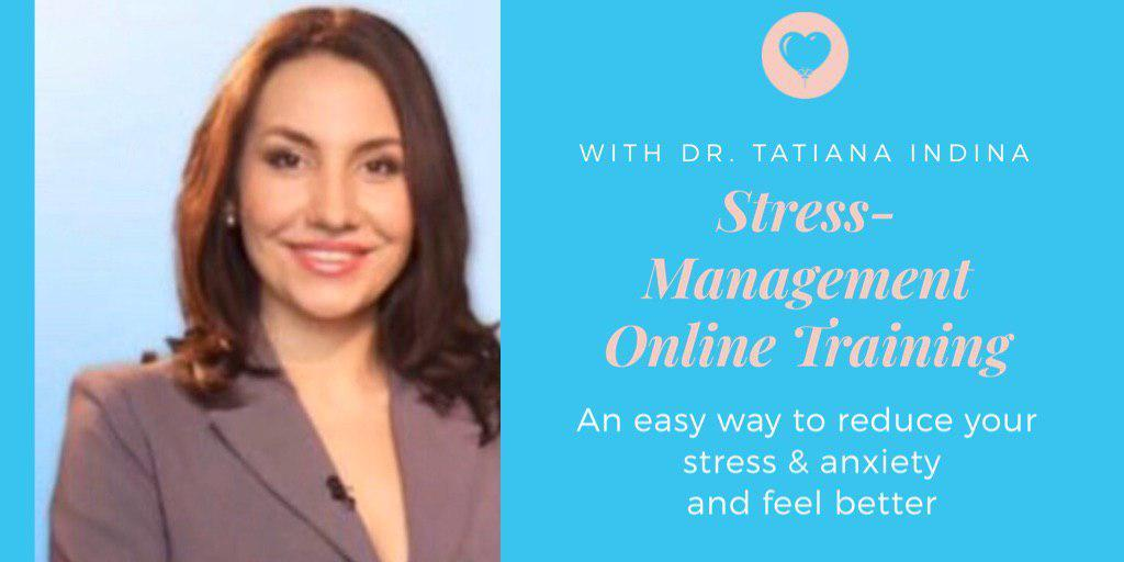 Stress Management Online Training to Reduce Stress & Anxiety and Feel Good