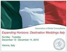 ABC Destination Wedding Specialist: Verona, Italy