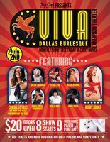 July Viva Dallas Burlesque