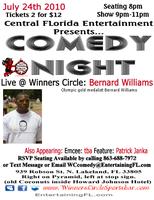 07.24.10 Comedian Bernard Williams live at Winners...