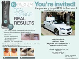 Ready to get REAL in San Jose with NeriumAD