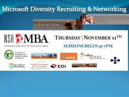 Microsoft Diversity Recruiting & Networking