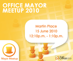 Office Mayor Meetup 2010