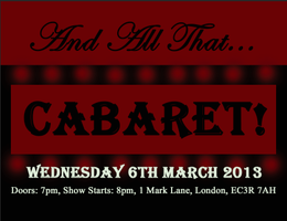 And All That... Cabaret!