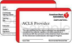 ACLS Online Course with Skills Session:  Lincolnshire, IL