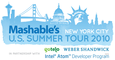 Mashable U.S. Summer Tour - New York City
