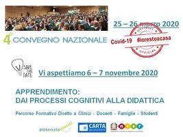 4° Convegno Nazionale Potenziamenti, 6 - 7  novembre...