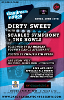 DIRTY SWEET + SCARLET SYMPHONY @ FLUXX LIVE