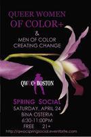 QWOC+ Boston Annual Spring Social 2010: A Mixer for...