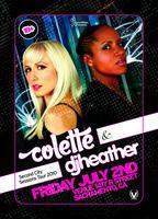 Colette & DJ Heather - Second City Sessions Tour 2010
